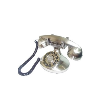 Picture of PMT-ALEXIS-SV Alexis 1922 Decorator Phone Silver