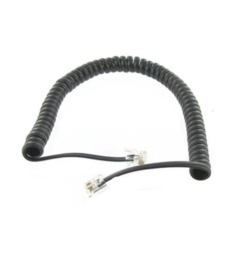 Picture of ST-302-007BK 7' BLACK HANDSET CORD
