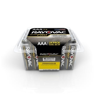 Picture of RAY-ALAAA-24 Alkaline Reclosable AAA 24 Pack