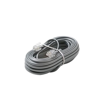Picture of ST-304-015SL 4C 15' Silver Modular Line Cord