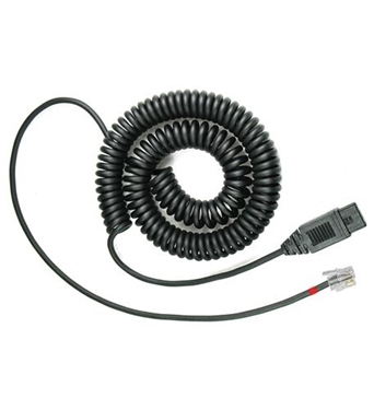 Picture of VXI-202696 QD 1027P RJ9 Lower Cord with P Style QD