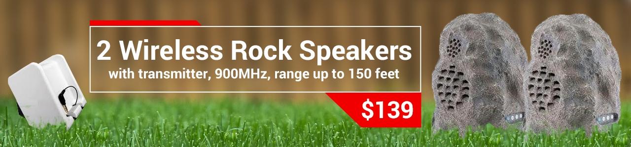 Two Rock speaker - 1 transmitter white