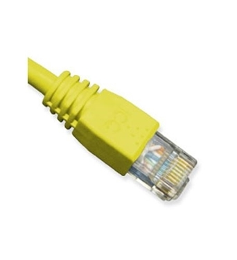 Picture of ICC-ICPCSK01YL PATCH CORD, CAT 6, BOOT, 1' YL