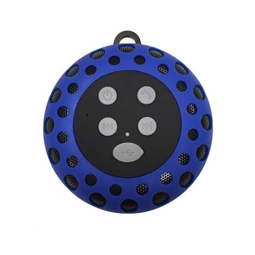 Cobra Digital Cbd Bt2000blue Bluetooth Speaker With Clip