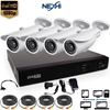 Picture of Nexhi 16CH 1080P HD-TVI DVR Complete Surveillance System with 4x 1080P HD Bullet Cameras, Adapters & Cables - 2 Year Warranty