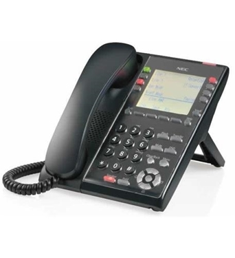 Picture of NEC-BE117453 Sl2100 IP Self-Labeling Telephone (BK)