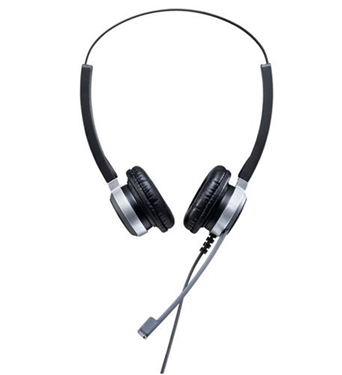 Picture of ADD-CRYSTAL-SR2802 ADDASOUND Binaural USB Headset