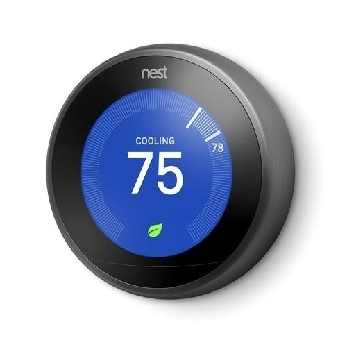 Nest T3016us Learning 3rd Generation Thermostat Black