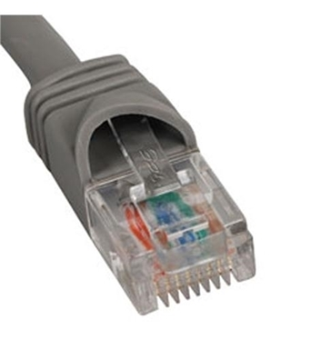 Picture of ICC-ICPCSJ10GY PATCH CORD, CAT 5e, MOLDED BOOT, 10' GY