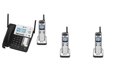 Picture of AT&T SynJ 4-Line Corded/Cordless SMB Phone System SB67138 w/ 3 Cordless Handsets